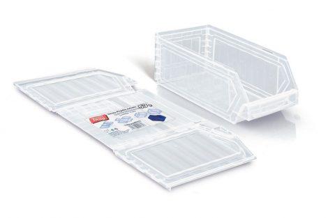 lap doboz 52P fehér áttetsző