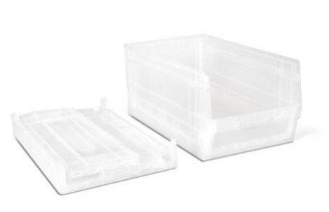 doboz kit 56P fehér áttetsző