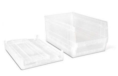 doboz kit 59P áttetsző fehér