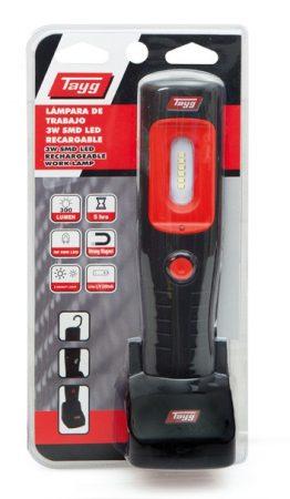 Tölthető LED szerelőlámpa 3W
